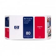 Cartucho HP 80 Original C4847A Magenta | 1050 | 1055