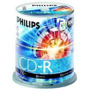 CD-R Philips 80 min / 700mb 52x - Pack 50 Mídias