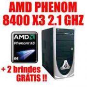 PHENOM 8650 2.3 X3 2GB 250GB + Monitor Benq LCD 15´