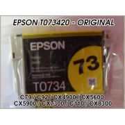 Cartucho Epson Original T073420 Yellow ´Sem Caixa´