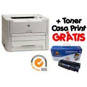 Impressora Hp Laser 1160 + Toner Casa Print Grátis