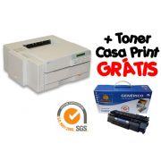 Impressora HP 4P usada + Toner Casa Print Grátis