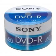 Dvd-r Sony - 120 Min. / 4.7 Gb Caixa Com 50 Mídias
