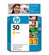 Cartucho HP 50 Original 51650Y Yellow | 230 | 250 | 650