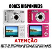 Câmera Digital Vivitar V5024 - 5.1 Megapixel LCD 2,4 Antistock e PicBridge