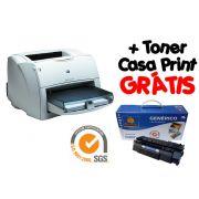 Impressora Hp Laser 1300 Usada + Toner Casa Print Grátis