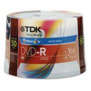 DVD-R TDK printable 4.7 gb 1-16x  50 und