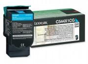 Toner Lexmark Original C544X1CG Cyan