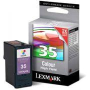 Cartucho Lexmark 35 Original 18C0035 Color