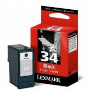 Cartucho Lexmark 34 Original 18C0034/ 18C0640 Black