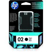 Cartucho HP 02 Original C8721WL Black |  D7145 | C5180 | C6240