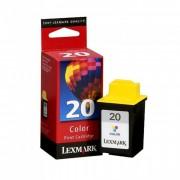 Cartucho Lexmark 20 Original 15M0120 Color