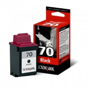 Cartucho Lexmark 70 Original 12a1970 Black