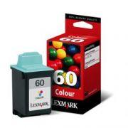 Cartucho Lexmark 60 Original 17g0060 Tricolor