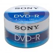 Dvd-r Sony - 120 Min. / 4.7 Gb Caixa Com 100 Mídias