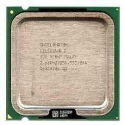 Processador Intel® Celeron® D 331,  256K Cache / 2.66 GHz / 533 MHz FSB