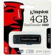 Pendrive DataTraveler DT100 Kingston de 4GB