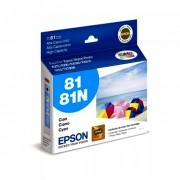 Cartucho Epson 81n Original T081220 Cyan | R290 | 1430W | RX590 | Sem Caixa