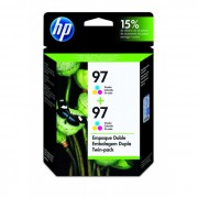 Cartucho HP 97 Original C9349FL Color Duplo | 7210 | 6830 | B8350