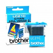 Cartucho Brother Original LC21C | LC-21C Cyan | MFC-3100C | MFC-5100C | IntelliFax-1800C