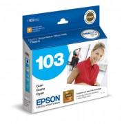 Cartucho Epson 103 Original T103220 Cyan |  TX550W | T1110 | T40W | TX515FN