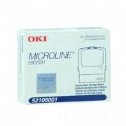 Fita para Impressora Microline Okidata 52106001 Black 590/591