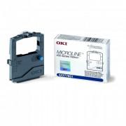Fita para Impressora Microline Okidata 42377801 Black 400 series