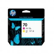 Cabeça de impressão HP 70 C9406A Magenta Yellow | Z2100 | Z5200 SEM CAIXA