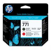 Cabeça de Impressão HP 771 CE017A Matte Black   Chromatic Red   Z6200   Z6800