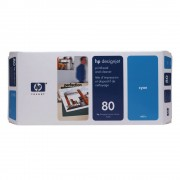 Cabeça de Impressão HP 80 C4821A Cyan | 1050 | 1055