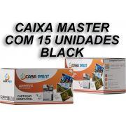 Caixa 15 Unid Toner  HP 125A Compatível  CB540A Black | CP1215