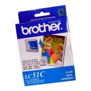 Cartucho Brother Original LC51C | LC-51C Cyan | DCP-130 | 330C | 540CN | MFC-240C | 440CN