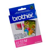 Cartucho Brother Original LC51M | LC-51M Magenta | DCP-130 | 330C | 540CN | MFC-240C | 440CN