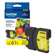 Cartucho Brother Original LC61Y Yellow sem caixa