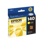 Cartucho Epson 140 Original T140420 Yellow | TX560WD | TX620FWD | WF-3012 | T42WD | Sem Caixa