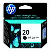 Cartucho HP 20 Original C6614D Black | 610 | 1010 | P2100U | SEM CAIXA