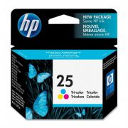 Cartucho HP 25 Original 51625A Color HP Deskjet 810 | 920 | PSC 500 | V40