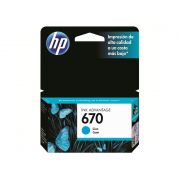 Cartucho HP 670 Original CZ114AB Cyan   4615   4625   5525