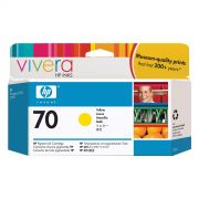 Cartucho HP 70 Original C9454A Yellow  | Z2100 | Z3100 | Z3200 | Z5200 | Z5400