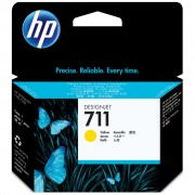 Cartucho HP 711 Original CZ132A Yellow | T120 | T520