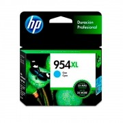 Cartucho HP 954XL Original L0S62AB Cyan | 8700 | 8710 | 8715 | 8720 | 8716 | 8725 | 8210 | 8740