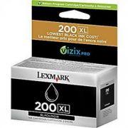 Cartucho Tinta Lexmark | Alto Rendimento 200XL - Black 14L0174