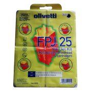 Cartuchos + cabeça de impressão Olivetti FPJ25 82070