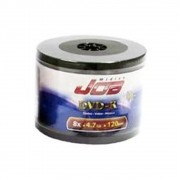 DVD-R JOB 120min / 4.7Gb 8x - Pack 50 Midias