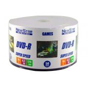 DVD-R New Star Printable 240min / 4.7Gb 16x - Pack 50 Mídias