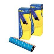Filme para Fax Faxlito FP17 compativel com Panasonic KX-FA93 | KX-FA57A com 2 Unidades