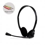 Headset Bright Office 0010 com Plugue estéreo 3,5mm