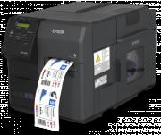 Impressora Epson de Etiquetas Rótulos Coloridas ColorWorks CW-C7500