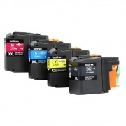 Kit 4 Cartuchos Brother Original SEM CAIXA LC509BK | LC505C | LC505M | LC505Y  MFC-J200 DCP-J105 DCP-J100