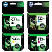 Kit Cartuchos HP 932xl e 933xl 6100 | 6700 | 7110 | 7510